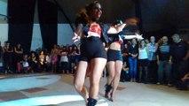 Mara Luz Ramirez y Ana Belen Pires en Salsafest 17/8/13