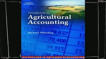 different   Introduction to Agricultural Accounting
