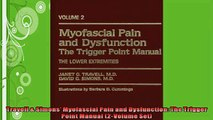 FREE PDF  Travell  Simons Myofascial Pain and Dysfunction The Trigger Point Manual 2Volume Set  FREE BOOOK ONLINE