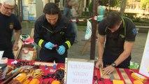 Fiesta solidaria de Bomberos Ayudan en Madrid