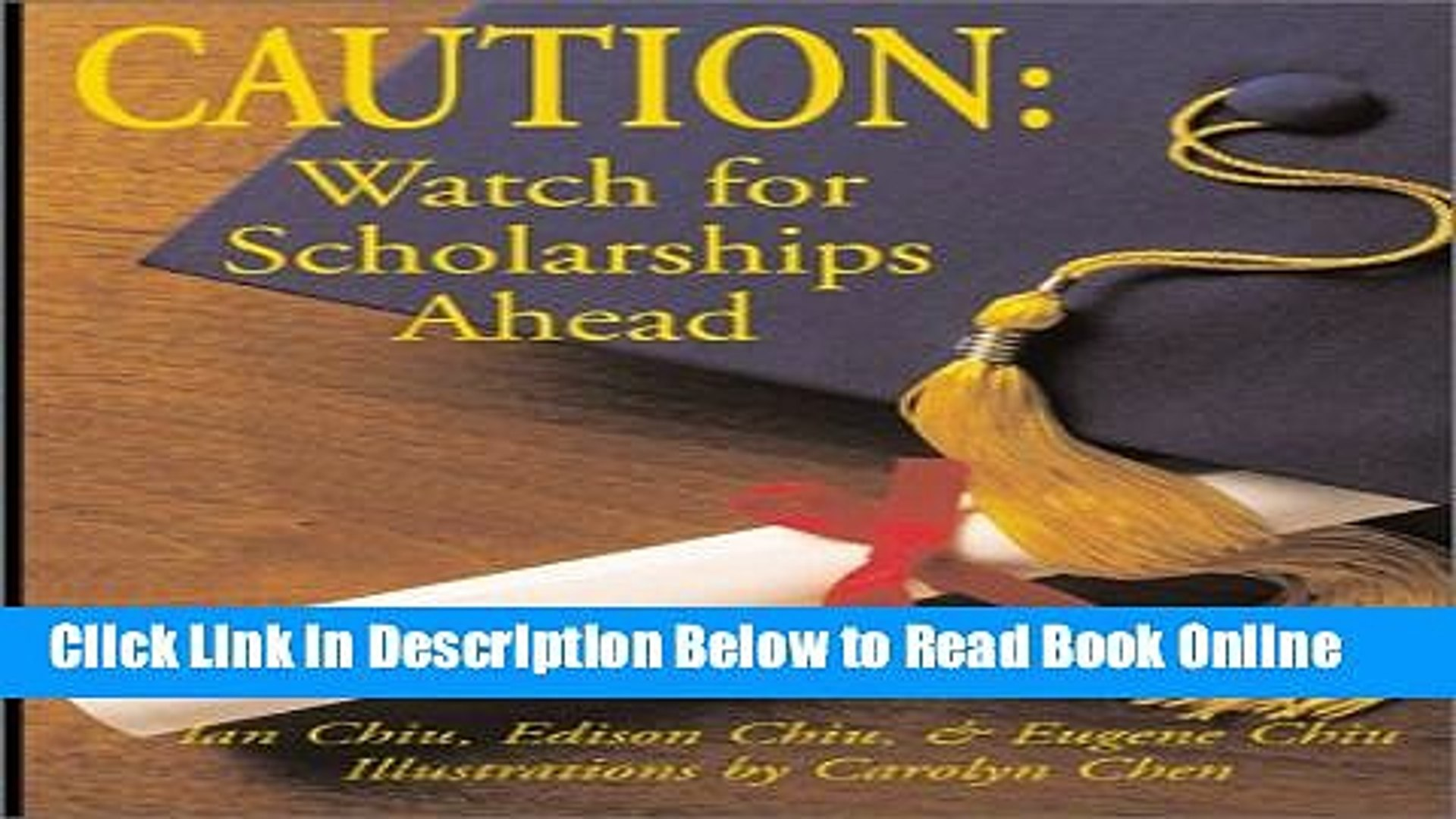 Download Caution: Watch for Scholarships Ahead: How to Apply for Scholarships...from a Student s