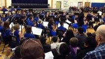 "Westlane Middle School 7th & 8th Grade Winter Concert December 10, 2013 ""Sleigh Ride"""