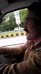 A Taxi Driver and PTI Voter from Pervaiz Khatak Constituency Nowshehra – Praising Nawaz Sharif Govt.