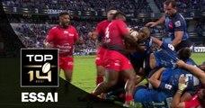TOP 14 – Toulon - Montpellier : 27-18 - Essai 1 Jesse MOGG (MON) – Demi-finale - Saison 2015-2016