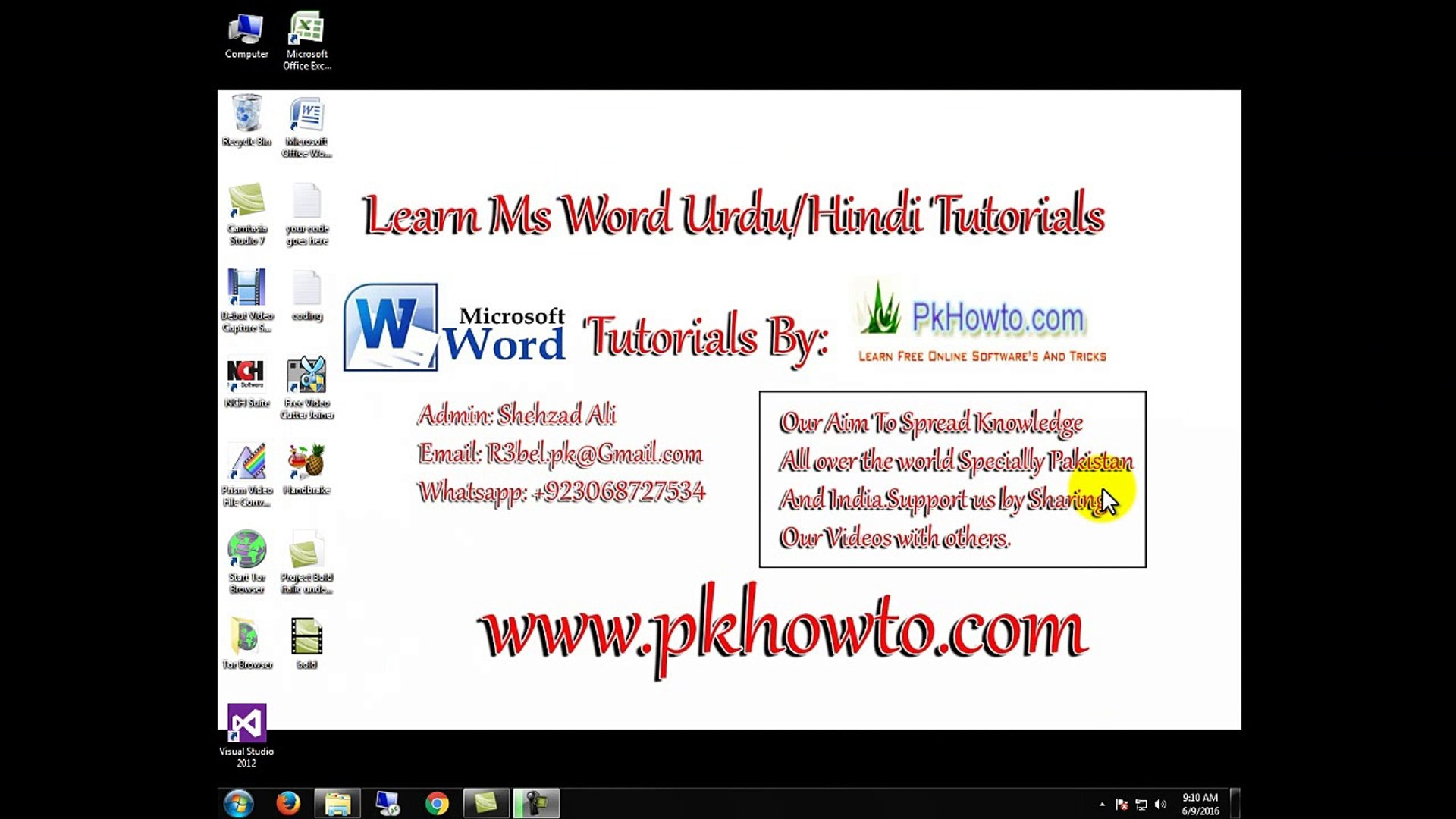Lesson # 5 Grow,Shrink,Font size and Font Style (Learn MS word Urdu Hindi  Tutorials)