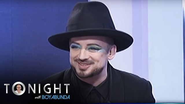 TWBA: What kind of fans does Boy George expect in Manila?