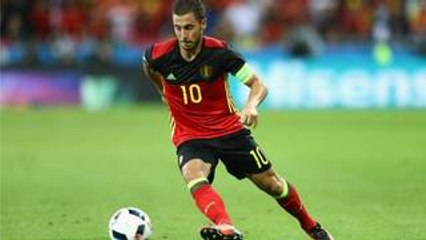 【EURO2016スター選手のベストプレー集】ベルギー代表のアザール
