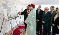 """جلالة الملك محمد السادس يعطي انطلاقة البرنامج الجهوي """"السوسيو-طبي"""" للقرب بجهة الدار البيضاء~سطات"""