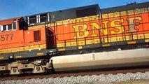 csx coal train bnsf engins in atmore al 12-27-12