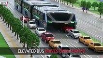 Nouveau concept Ce bus chinois a pour d'améliorer le transport en commun.