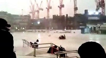 أمطار ورياح وعواصف شديدةعلى الحرم السبت 28-11-1436