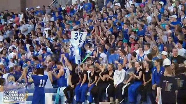 High school football: Lone Peak Knights vs. Bingham Miners football highlights 09-29-11.