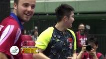 Tennis de table - Le français Simon Gauzy victime d'un point incroyable de Fan Zhendong