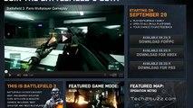 Battlefield 3 Beta announced starts 29 Sept