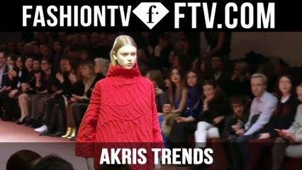 Paris Fashion Week F/W 16-17 - Akris Trends   FTV.com