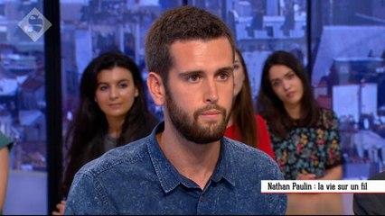 Nathan Paulin : la vie sur un fil - Le Supplément du 19/06 - CANAL+