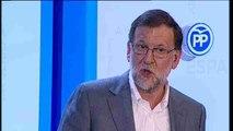 """Rajoy, en Lleida: """"La unidad de España y la igualdad de españoles no se toca"""""""
