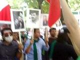فیلم تظاهرات امروز در آنکارا 25 خرداد