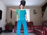 Karine faivre Zumba instructor Choré de danse Rochejean Keen'v/willy william (On s'endort)