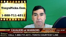 Golden St Warriors vs. Cleveland Cavaliers Free Pick Prediction Game 7 NBA Pro Basketball Finals Odds Preview