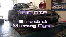 Worlds highest stock 2009 GTR dyno vs Tune only Dyno
