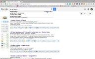 Google Gravity, Anti Gravity Google Gravity underwater and Google Tricks