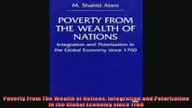 Read here Poverty From The Wealth of Nations Integration and Polarization in the Global Economy