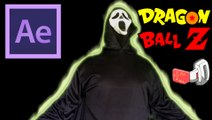 Ghostface becomes Super Saiyan & Scouter - Dragon Ball effect