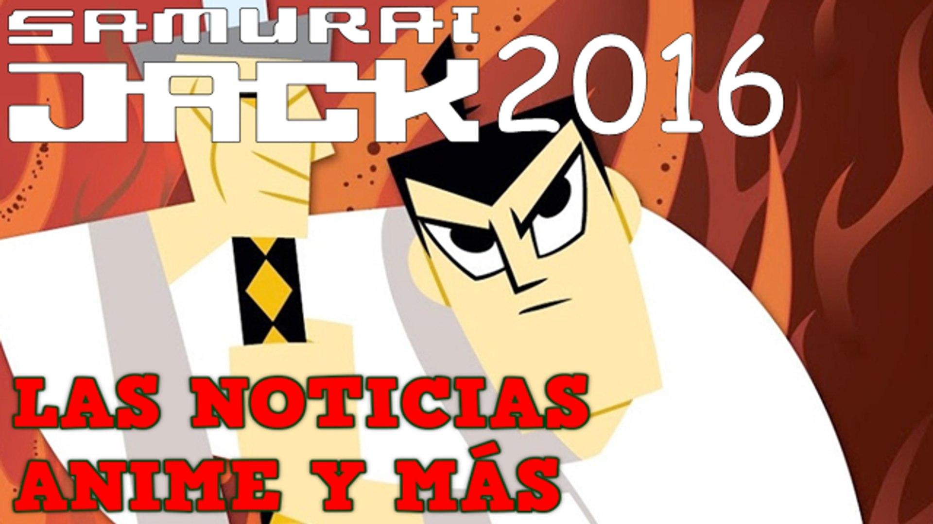 NOTICIAS Anime: Samurai Jack 2016, Tokyo Ghoul Pelicula Live Action, Kochikame Haikyuu!! y más