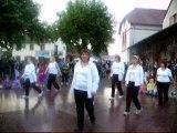 Danse à Vincelles, specatacle de danse de fin d'année