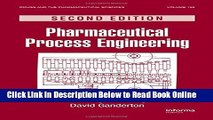 PDF] Pharmaceutical Process Engineering Second Edition (Drugs and