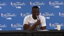 Draymond Green Postgame Interview #1  Cavaliers vs Warriors - Game 7  2016 NBA Finals