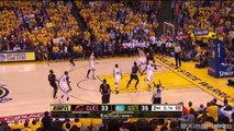 LeBron Blocks Steph Curry & Exchange Words  Cavaliers vs Warriors - Game 7  2016 NBA Finals