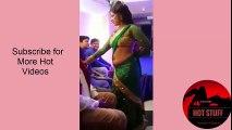 Sweet  Indian Mumbai Teenage Bar Girl Dancing in Colour Saree_HD