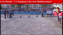 Record du monde des 1000 boules, 10 tireurs, 1 heure à Béziers : la performance de Khaled Lakhal et Jean-Michel Puccinelli