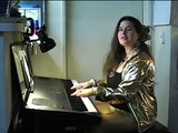 """Julia Steward, M.A. performing Johannes Brahms' """"Hungarian Dance No. 5"""" on piano (excerpt)"""