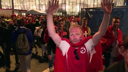 Euro-2016: les supporters satisfaits après le 0-0 France/Suisse