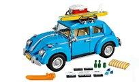 VÍDEO: Monta pieza a pieza este Volkswagen New Beetle de Lego