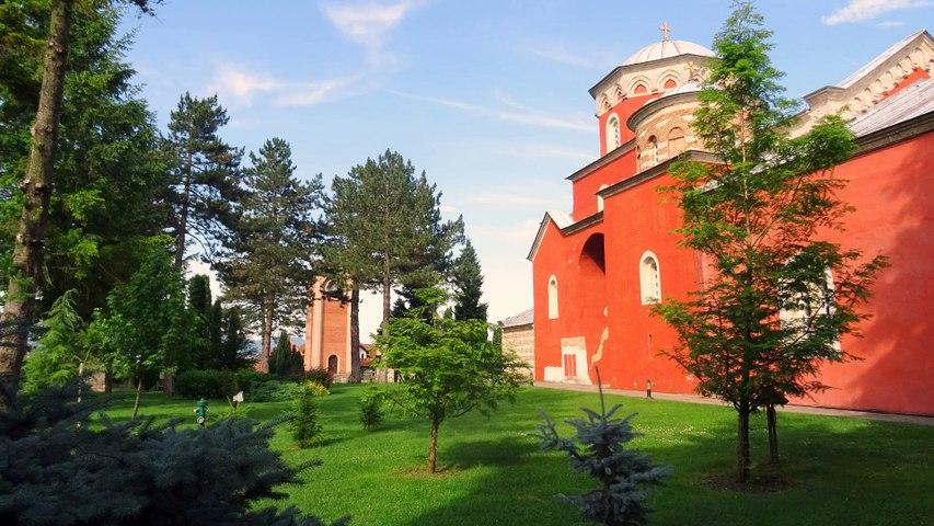 Манастирът Жича в Сърбия
