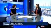 """""""Brexit"""" ou """"Brexin"""": fossé entre les générations"""