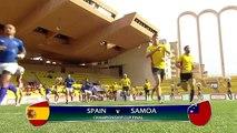 L'Espagne bat les Samoa et se qualifie pour les JO