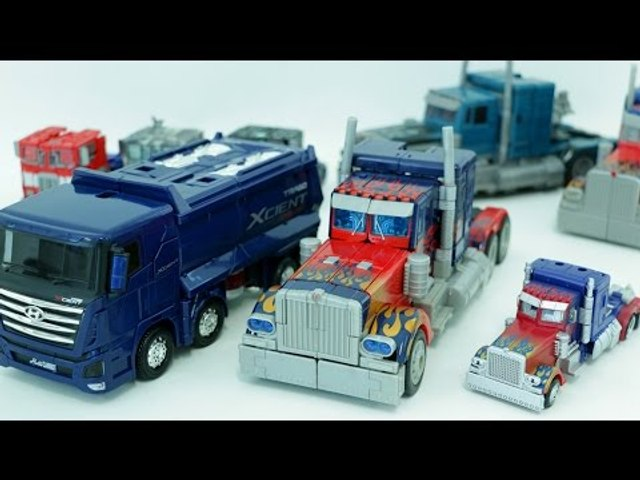 Transformers Carbot Truck Optimus Prime Robot Car Toys 트랜스포머 옵티머스 프라임 헬로카봇 트럭 트라고 자동차 장난감 로봇 변신 동영상