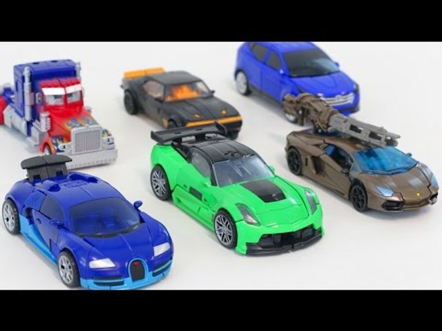 Transformers Deluxe Class Carbot Vehicle Robot Transformation Car Toys 트랜스포머 헬로카봇 자동차 장난감 로봇 변신 동영상