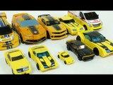 Yellow Color Transformers Autobot Bumblebee Carbot Tobot Robot Car Toys 노란색 트랜스포머 범블비 카봇 또봇 장난감 변신