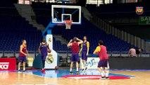FCB Basket: Ribas y Oleson previa Madrid-FCB Lassa (3r partido) [ESP]