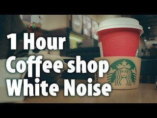 백색소음 ASMR : 1 시간 Cafe Ambient Noise 집중하기 좋은 카페 소리 (Binaural)