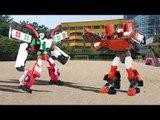 헬로카봇 스타렉스 댄디/댄디 구급차 카봇 vs 또봇 또봇z 어드벤처 실사 합성 장난감 자동차 동영상 Hello CarBot TOBOT transforming car toys