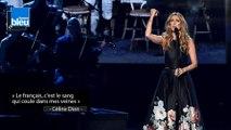 """Céline Dion : """"Le français, c'est le sang qui coule dans mes veines"""""""
