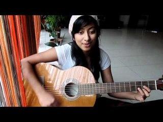 2ne1 I don't care - Korean cover (with guitar)