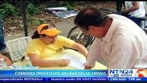 Vecchio asegura que Venezuela no aguanta hasta el 2019 con Maduro y llama a venezolanos a validar sus firmas